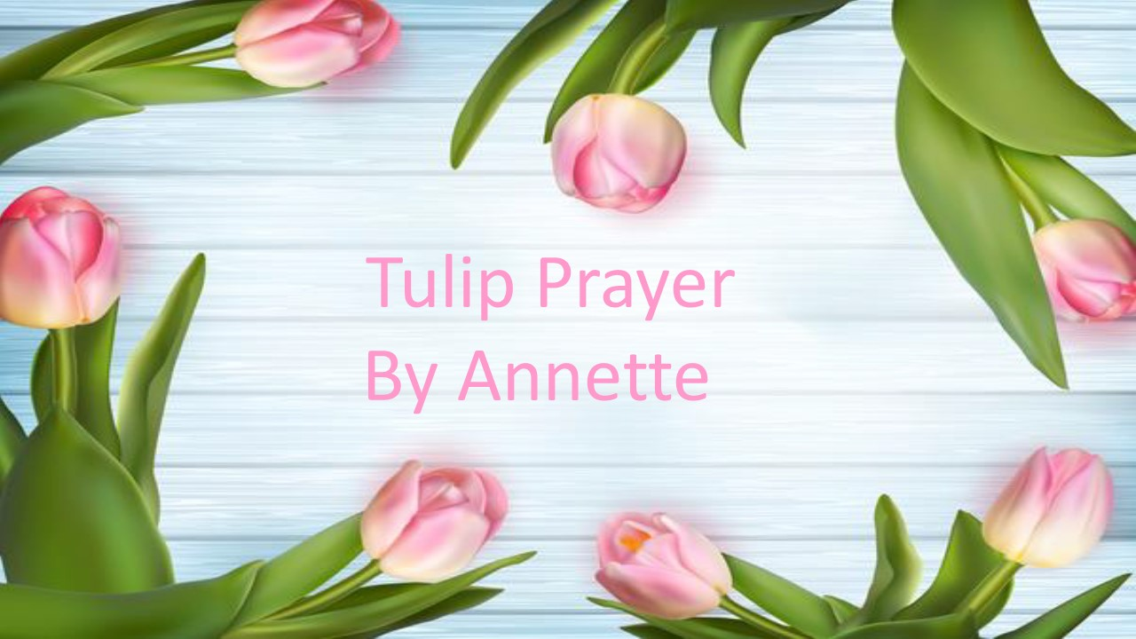 Tulip Prayer 5/18/2020 #7